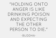 Let go of your anger