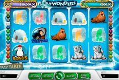 Icy Wonders #Spielautomat von #NetEnt passt perfekt bei diesem Wetter! Kostenlos oder mit dem Echtgeld wird Icy Wonders Automatenspiel euch kühlen und progressive Gewinne bringen!