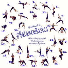 September Yoga Challenge #BalanceBasics. Balance is a state of mind that is expressed through physical postures.