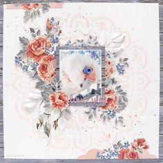 Fussy Cutting and Layers With Kaisercrafts Boho Dreams collection, by DT Anita Bownds Scrapbooks, Diy And Crafts, Paper Crafts, General Crafts, Coordinating Colors, My Scrapbook, Layout Inspiration, Scrapbooking Layouts, Beautiful Birds