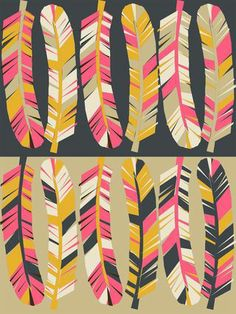 Paper Sparrow fabric pattern