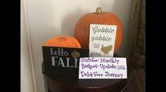 October Monthly Budget Update..debt free journey 2016