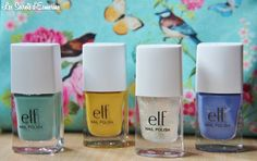 Collection Beachy - #ELF #Vernis http://lessecretsdesmerine.eklablog.fr/collection-beachy-de-chez-elf-swatch-a107812280