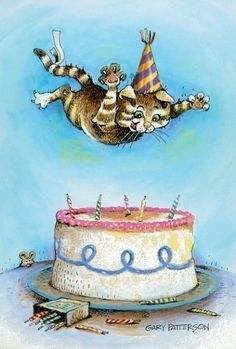 birthday cat; Gary Patterson