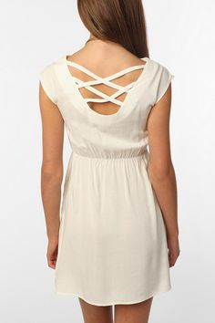 This would be cute as a coverup. It's modest, but you can still have exposure to the sun!