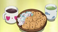 Find images and videos about gif, food and anime on We Heart It - the app to get lost in what you love. Anime Bento, Think Food, I Love Food, Aesthetic Food, Aesthetic Anime, Cute Food, Yummy Food, Anime Gifs, Pokemon