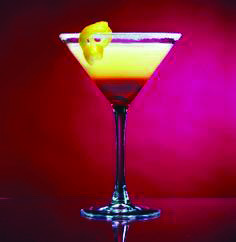 Last Minute lemon drop martini mixer developed by nutritionists