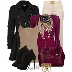 Marvelous Magenta, created by myfavoritethings-mimi on Polyvore