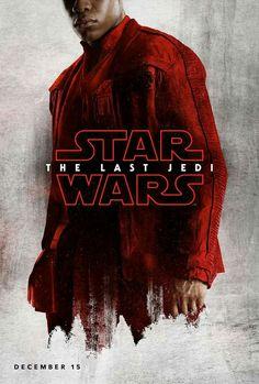 The Last Jedi Poster- Finn