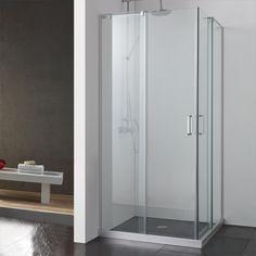 photos 34 x 34 balata corner shower enclosure with dual sliding doors signature hardware