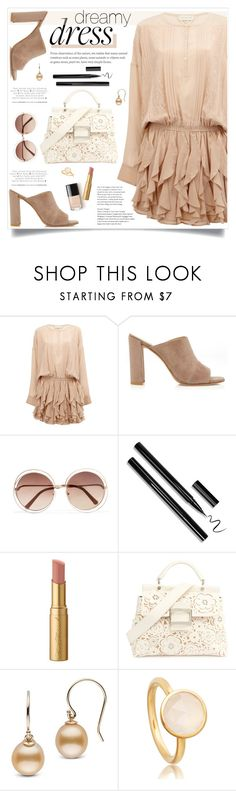 """Dreamy Dresses"" by tamara-p ❤ liked on Polyvore featuring Faith Connexion, Stuart Weitzman, Chloé, Too Faced Cosmetics, Roger Vivier and dreamydresses"