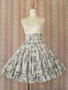 VM Rococo Scallop Waist Skirt