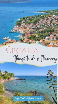 This Croatia travel guide is complete with the top places to go and what to do in Croatia. You can use the suggested itinerary to plan your family vacation with all the best beaches and sightseeing to make your trip unforgetable!