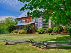 1858 Log Home Raphine, VA.