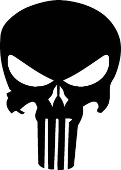 The Punisher Decal