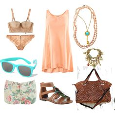 Summer, created by grace-brianne-price on Polyvore