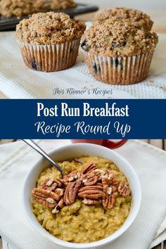 Post Run Breakfast Recipe Round Up
