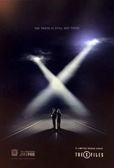 A poster for the upcoming X-Files revival series has been unveiled at Cannes, featuring Fox Mulder (David Duchovny) and Dana Scully (Gillian Anderson) back on the road to discovering the truth.
