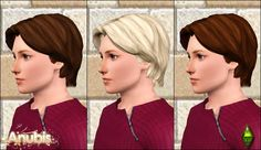 Anubis - Sims Stuff: The Sims Medieval Male Hairs Set ~ Converted for Teen-To-Elder