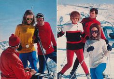 1970s Vintage Anba Skiwear Earlier this week Maria covered the history of ski wear in its early days. If you somehow missed it click here and then come back for
