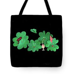 Thing 1, Two Daughters, Weird Creatures, Four Leaf Clover, Basic Colors, Poplin Fabric, Bag Sale, Color Show, Colorful Backgrounds