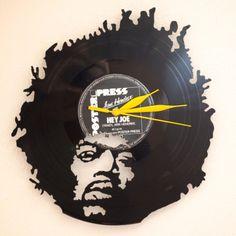Ja spravím vinylové hodiny za 22€   Jaspravim.sk Hey Joe