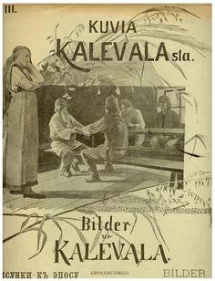 The Life and Art of Sigfried August Keinänen - Photos of the Kalevala Booklet Cover – Siegfried August Keinänen