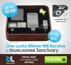 The Sanctuary ($130). This clean and simple design cleverly holds a universal charger that's compatible with over 1500 electronic devices, plus a USB port that can charge hundreds more devices (not all at the same time, of course, but if it's got hol Find Hundreds of the Latest Sweepstakes & Contests Updated Daily. Start Winning Cash & Prizes Today! http://sweepstakes13.com/register
