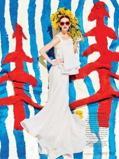 Exclusive: Lydia Hearst Models the Season's Most Beautiful Wedding Dresses 6