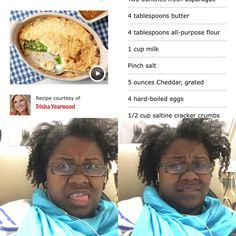 """So I'm watching Trisha Yearwood make some sort of """"asparagus casserole,"""" and it only has asparagus, hard boiled eggs, a cheese sauce, and saltine crackers. I looked the """"recipe"""" up while watching, and began pulling faces. DON'T INVITE ME TO YOUR GATHERING IF YOU SERVE STUFF LIKE THIS. I say this with love."""