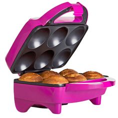 Features:  -Non-stick coating.  -Space saving storage.  Product Type: -Dessert maker.  Indicator Light: -Yes.  Non-Stick: -Yes.  Primary Material: -Plastic. Dimensions:  Overall Height - Top to Bottom