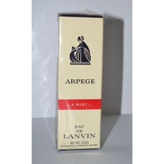 Vintage Arpege Eau De Parfum Mist By Lanvin