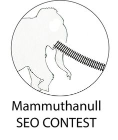 """Angelsmagazine ruft zu einem neuen SEO Wettstreit auf.    Ziel ist es, für den Begriff """"mammuthanull"""" (ohne """""""") eine Top-Position in den Google.de Ergebnislisten zu ergattern.    Das erfundene Wort muss mit der Seite http://railad.at verlinkt werden.    Mehr Info auf: http://angelsmagazine.blog.de/2012/04/16/schnapp-mammut-seo-wettstreit-rufe-b-suchmaschinenoptimierungs-wettstreit-b-ziel-begriff-mammutlokmodelleisenbahn-13520881/"""