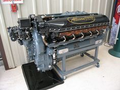 Allison used in early P 51 Mustangs and in P 38 Lightnings Aircraft Engine, Ww2 Aircraft, Military Aircraft, Motor Engine, Car Engine, Jets, Cadillac, Lockheed P 38 Lightning, Diesel