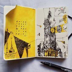 Sketchbooks sketchbooks in 2019 art sketches, art sketchbook, illustratio. Art And Illustration, Arte Sketchbook, Sketchbook Pages, Architecture Sketchbook, Sketchbook Ideas, Sketchbook Layout, Moleskine Sketchbook, Arte Gcse, Posca Marker