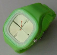 Sixron Silicon Jelly Watch Unisex Light Green Fathers Day Gift sscom. $7.95