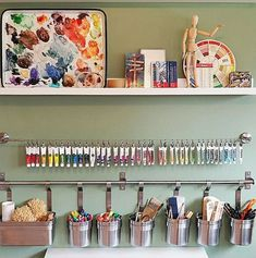 40 Art Room And Craft Room Organization Decor Ideas - artmyideas