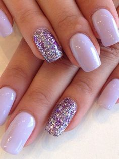 Nov 2018 - Do you like all shades of purple? Not sure what purple nail design will suit you the best? Check out this list of 90 stunning purple nails. Purple And Silver Nails, Purple Glitter Nails, Mauve Nails, Metallic Nails, Acrylic Nails, Pink Nails, Hallographic Nails, Sparkly Nails, Oval Nails
