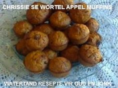 Picture Pie Recipes, Cooking Recipes, Muffins, Homemade Dinner Rolls, South African Recipes, No Cook Meals, Sweet Treats, Deserts, Afrikaans