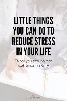 Life is full of challenges and we all get stressed from time to time. The moment you start doing little things to reduce stress you will feel the benefits almost instantly. Click through to http://jillconyers.com/2016/11/reduce-stress-when-life-is-busy/ to read the full article. Pin it now and share it with your friends. @jillconyers