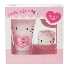 Sanrio Hello Kitty Hand Cream & Lip Balm Set | YESSTYLE