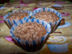 Repostería Tximeleta: Muffins de manzana y canela