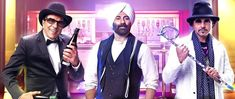 Yamla Pagla Deewana Phir Se is an Indian Bollywood action comedy film, written by Dheeraj Rattan and directed by Navaniat Singh.
