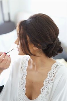 Beautiful chignon//