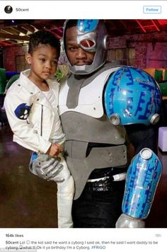 Making dreams come true: 50 Cent, 41, shared photos of a lavish Teen Titans-themed birthday bash he threw for his son Sire, aged four years, in Los Angeles on Saturday