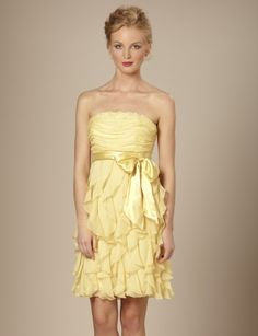 There needs to be an event coming up to give me a reason for buying and wearing this dress.  $118