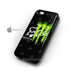 Fox Racing Monster Energy iPhone 4/4s Case, iPhone 5 Cover