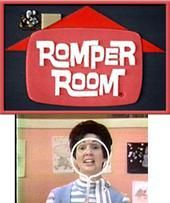 "romper-room. Apparently I would be extremely excited when she would ""see"" me :)"