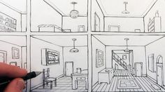 10 One Point Perspective Room Ideas Perspective Room One Point Perspective Room One Point Perspective