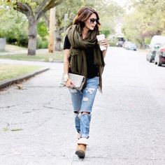 Boyfriend jeans, comfy boots, and cozy sweaters ... fall is coming!